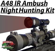 Coyote Hunting Lights Wicked Lights A48ir Ambush Light With 850nm Infrared Ir Led