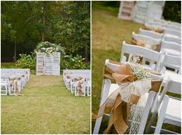 country wedding ideas for summer outdoor country wedding