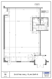 design u0026 layout existing wall plan