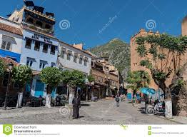 The Blue City Morocco by Chefchaouen The Blue City Of Morocco Editorial Stock Image