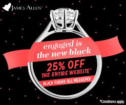 allen and blue nile black friday deals engagement ring