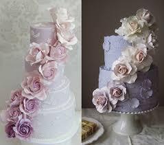 wedding cake roses purple lilac lavender wedding cakes cake magazine