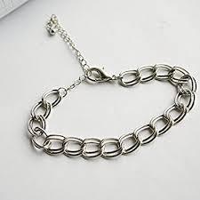 simple chain bracelet images The original single simple models girls silver chain bracelet jpg