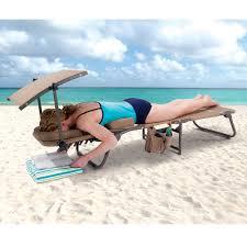 Beach Chair With Canopy Target Ergonomic Beach Lounge Chair Sadgururocks Com