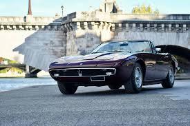 vintage maserati ghibli 1971 maserati ghibli 4 9 ss spyder lhd classic driver market