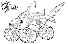 blaze coloring pages getcoloringpages com