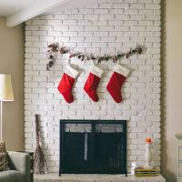 ways to hang pictures 9 ways to hang stockings if you don t have a mantle babble