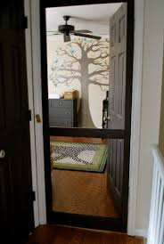 screen door on nursery great if you have cats kid related