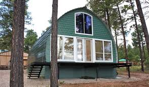 small a frame cabin kits prefabricated arched cabins can provide a warm home for