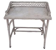 White Wicker Desk by Habitually Chic Get The Look Of Halcyon House