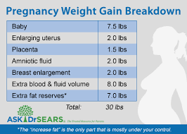healthy weight gain during pregnancy ask dr sears