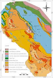 Himalayan Mountains Map Geological Map Of Nw Himalaya