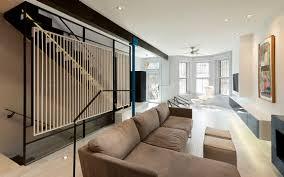Interior Home Renovations Small Row House Renovation Idea Bold Colors