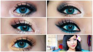 5 makeup looks that make blue eyes pop