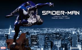 spider man symbiote costume sideshow collectibles