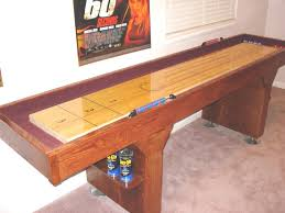 9 Foot Shuffleboard Table by How To Build A Shuffleboard Table I Shuffleboard Blog