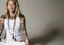 zen inspiration for yoga tattoos tattoodo