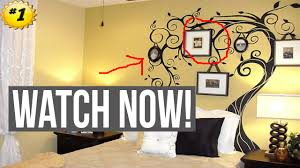 wall painting ideas for bedroom youtube