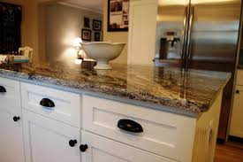 gorgeous granite countertops with white kitchen cabinets u2014 indoor