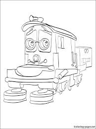 calley chuggington coloring coloring pages