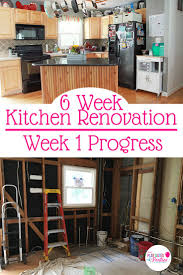creating a last minute kitchen design plan our 6 week renovation