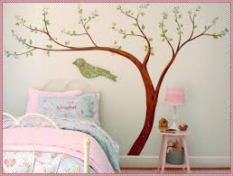 beautiful cherry blossom wall decal home decorations ideas image of bedroom cherry blossom wall decal