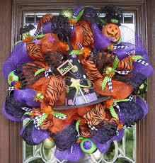 Pinterest Halloween Wreaths by Deco Mesh Boo Witch U0027s Hat Halloween Wreath By Decoglitz On Etsy