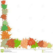 thanksgiving clip art borders free fall leaves border stock images image 248624