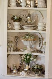 best 25 china cabinet display ideas on pinterest china cabinet decorating idea for our built in corners in dining room pewter cream dishes