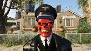 gta halloween 2017 the red skull for gta 5