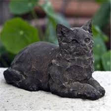 Cat Garden Decor Stone Elephant Garden Statue Garden Statues Add Art To The Yard