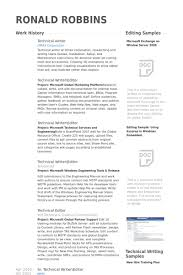 Sharepoint Resume Examples by Technical Writer Resume Samples Visualcv Resume Samples Database
