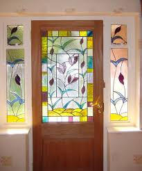 glass panel front door trend stained glass front door inspiration design stained glass