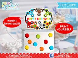fidget spinner cake topper fidgety hand spinner cupcake tower