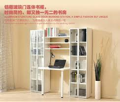 wall art astounding computer desk with bookcase and combo ideas