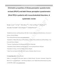 leysen manual therapy 2014 sr ipq r 2