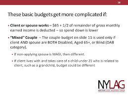 medicaid spend down in new york evelyn frank legal resources