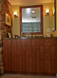semihandmade rift walnut ikea bathroom in ny semihandmade ikea