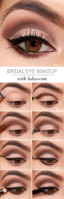 lulus how to bridal eye makeup tutorial at lulus