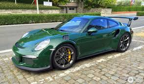 porsche 911 gt3 rs green porsche 991 gt3 rs 18 september 2016 autogespot