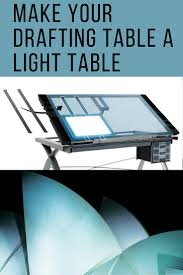 Drafting Table Light How To Make Your Drafting Table A Light Table Studio Design