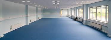 commercial flooring contractors supplying fitting mac floor