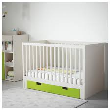 Crib Mattress Base Stuva Crib With Drawers Ikea