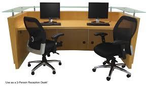 Mobile Reception Desk Top Maple Welcome Desk W Mobile Files
