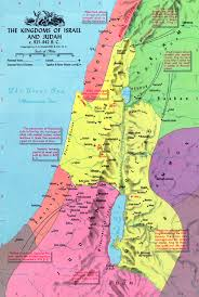 Map Of Israel In Jesus Time Numbers An Amateur U0027s Journey Through The Bible