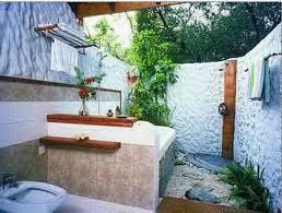 Tropical Decor Tropical Kids Bathroom Wicker Tossue Cover White Ceramic Floor