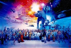 anniversary star wars original art sandaworld com the art of