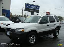Ford Escape Horsepower - 2007 ford escape xlt 4wd in oxford white b18410 nysportscars