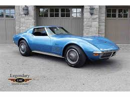 1970 to 1972 chevrolet corvette stingray for sale on classiccars