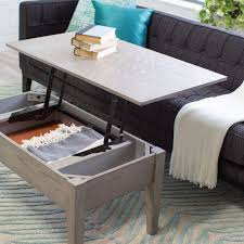 coffee table that raises up coffe table raising coffee table with storage tables rising